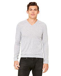 Bella 3985 Men  V-Neck Lightweight Sweater