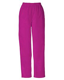 Cherokee Workwear 4001 Women Natural Rise Tapered Leg Pullon Pant at bigntallapparel