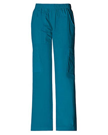 Cherokee Workwear 4005P Women Mid Rise Pull-On Pant Cargo