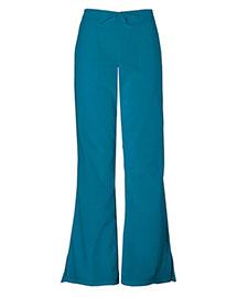 Cherokee Workwear 4101 Women Natural Rise Flare Leg Drawstring Pant
