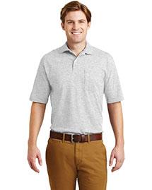 Jerzees 436MP Men Spotshield Jersey Knit Sport Shirt With Pocket