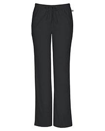 Cherokee Workwear 44101AP Women Mid Rise Moderate Flare Drawstring Pant