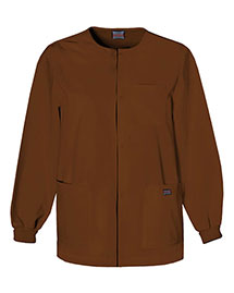 Cherokee Workwear 4450 Men Snap Front Warmup Jacket