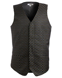 Edwards 4497 Men Diamond And Dots Vest at bigntallapparel