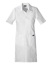 Cherokee Workwear 4501 Women Zip Front Dress at bigntallapparel