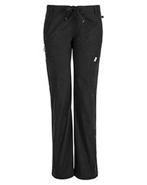 Code Happy 46000A Women Low Rise Straight Leg Drawstring Pant