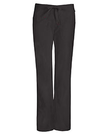 Code Happy 46002AB Women Mid Rise Moderate Flare Drawstring Pant