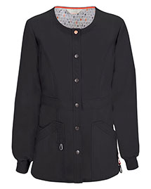 Code Happy 46300A Women Snap Front Warmup Jacket