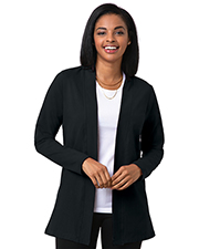 Blue Generation BG4705 Women Ladies Fly Away Cover Up Black 2 Extra Large Solid at bigntallapparel