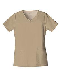 Cherokee Workwear 4727 Women Vneck Top