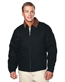 Tri-Mountain 4800 Men Canvas Work Jacket With Quilted Lining at bigntallapparel