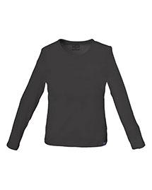 Cherokee Workwear 4818 Women Long Sleeve Crew Neck Knit Tee