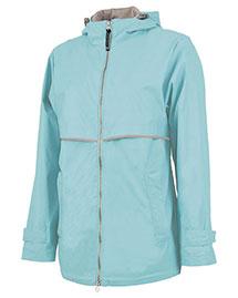 Charles River Apparel 5099 Women Englander Rain Jacket at bigntallapparel