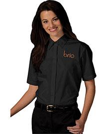 Edwards 5240 Women Short Sleeve Cafe Shirt at bigntallapparel