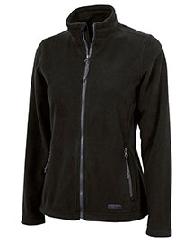 Charles River Apparel 5250 Women Boundary Fleece Jacket at bigntallapparel