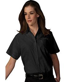 Edwards 5313 Women Short Sleeve Value Broadcloth Shirt