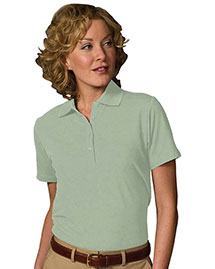Edwards 5500 Women Soft Touch Blended Pique Polo