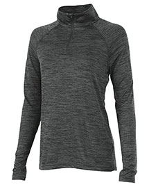 Charles River Apparel 5763 Women Space Dye Performance Pullover at bigntallapparel