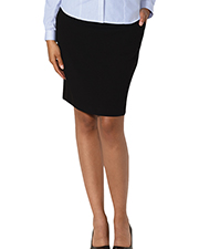 Blue Generation BG6004K Women Ladies Pull On Skirt Black 2 Extra Large Solid