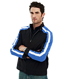 Tri-Mountain 6010 Men 100% Polyester  Long Sleeve Tmr Wind Jacket With Water Resistent at bigntallapparel