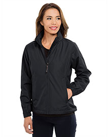 Tri-Mountain 6013 Women 100% Polyester Long Sleeve Jacket With Water Resistent at bigntallapparel