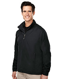 Tri-Mountain 6015 Men 100% Polyester Long Sleeve Jacket With Water Resistent