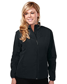 Tri-Mountain 6220 Women 100% Polyester Long Sleeve Jacket With Water Proof at bigntallapparel