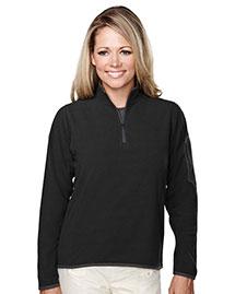 Tri-Mountain 7046 Women 100% Polyester Fleece 1/4 Zipper Pullover at bigntallapparel