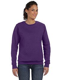 Anvil 71000L Women Ringspun Crewneck Sweatshirt at bigntallapparel