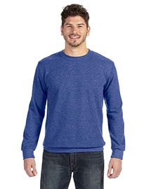 Anvil 72000 Men Ringspun French Terry Crewneck Sweatshirt at bigntallapparel