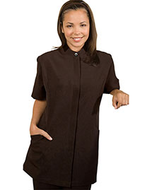 Edwards 7278 Women Hidden Placket Solid Tunic