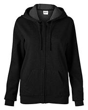 Soffe 7336V Women  Core Fleece Full Zip Hoodie at bigntallapparel