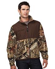 Tri-Mountain 7450C Men 100% Spun Polyester Anti Pilling Fleece Jacket