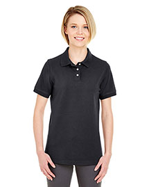 Ultraclub 7500L Women Classic Platinum Polo