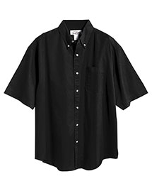 Tri-Mountain 768 Men Stain Resistant Short Sleeve Twill Dress Shirt at bigntallapparel