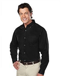 Tri-Mountain 770 Men Stain Resistant Long Sleeve Twill Dress Shirt at bigntallapparel