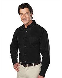 Tri-Mountain 770 Men Stain Resistant Long Sleeve Twill Dress Shirt at bigntallapparel