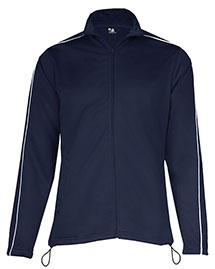 Badger 7901 Women 100% Polyester Razor Full Zipper Jacket at bigntallapparel