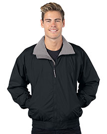 Tri-Mountain 8000 Men Big And Tall Nylon Jacket With Lightweight Fleece Lining at bigntallapparel