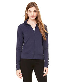 Bella 807 Women Cotton/Spandex Cadet Jacket at bigntallapparel