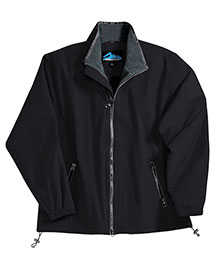 Tri-Mountain 8090 Men Big And Tall Nylon Jacket With Fleece Lining at bigntallapparel