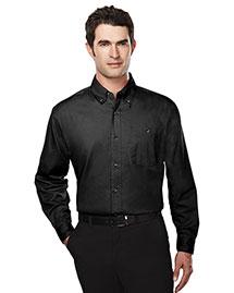 Tri-Mountain 810 Men Cotton Long Sleeve Twill Shirt at bigntallapparel