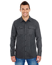 Burnside 8200 Men Solid Flannel Shirt