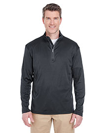 Ultraclub 8230 Men Cool & Dry Sport 1/4zip Pullover