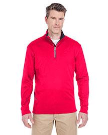 Ultraclub 8230 Men Cool & Dry Sport 1/4zip Pullover