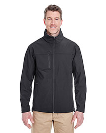 Ultraclub 8280 Men Soft Shell Jacket With Cadet Collar