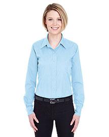 Ultraclub 8355L Women Easycare Broadcloth