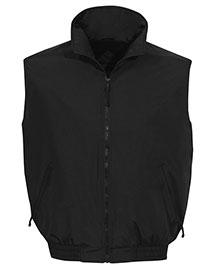 Tri-Mountain 8400 Men Big And Tall   Nylon Vest With Fleece Lining at bigntallapparel