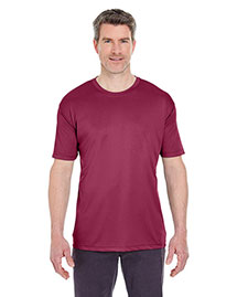 Ultraclub 8420 Men Cool & Dry Sport Performance Interlock Tee at bigntallapparel