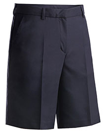 Edwards 8422 Women Microfiber Flat Front Shorts at bigntallapparel